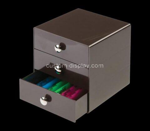 Customize acrylic drawer plexiglass storage box