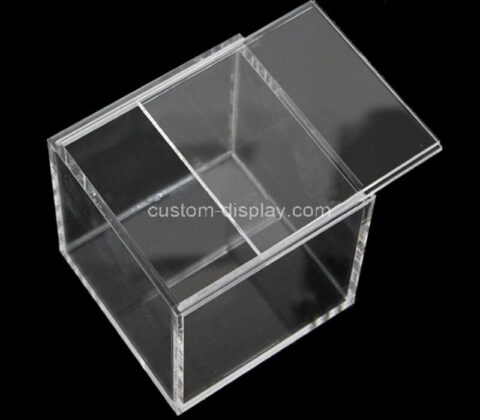 Custom pokemon clear acrylic booster box lucite display case