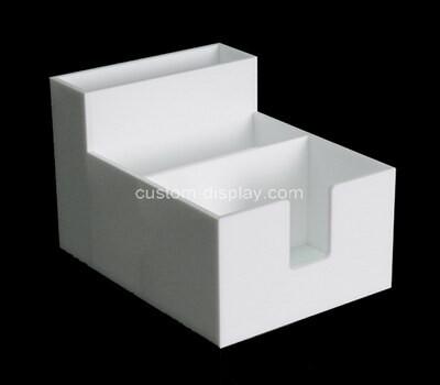 Custom acrylic display case plexiglass desk organizer perspex display holder