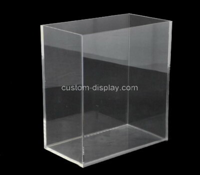 Custom acrylic display case lucite box for collectibles, home storage & organizing toys