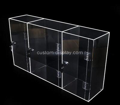 Custom lucite wine bottle case perspex box