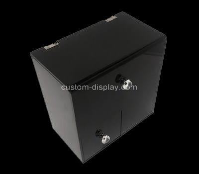Custom acrylic makeup brush organizer perspex case plexiglass box