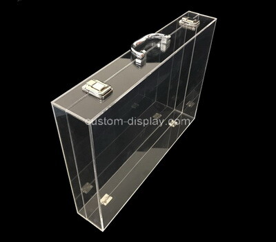 Custom acrylic flat case lucite showcase perspex box