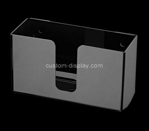 Custom acrylic wall mounted paper towel dispenser plexiglass holder