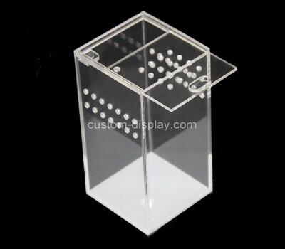 CSA-1571 Custom transparent acrylic reptile breeding box lucite terrarium cage