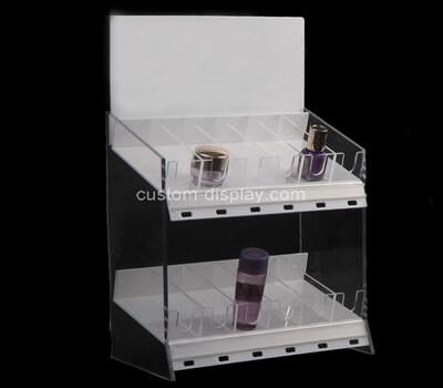 Custom counter top plexiglass display case perspex holder