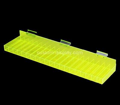 Custom lucite multi dividers organizer plexiglass display box acrylic case