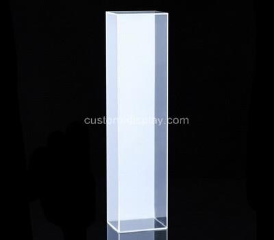 Custom tall and slim plexiglass display case lucit box