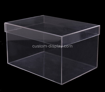 Custom plastic household storage container with lid - organizer for entryway, closet, kitchen, bathroom, garage kid's room, craft room
