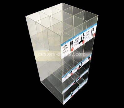 Custom plexiglass display case lucite showcase acrylic box