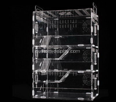 Custom plexiglass hamster cages acrylic small animal pet cage house