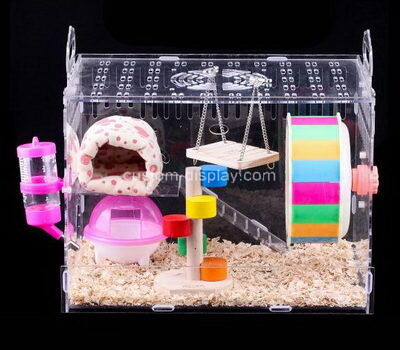 custom perspex habitat box plexiglass hamster cage lucite breeding box