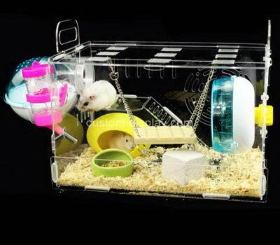 Custom perspex pet guinea pig cage plexiglass pet nest acrylic breeding box