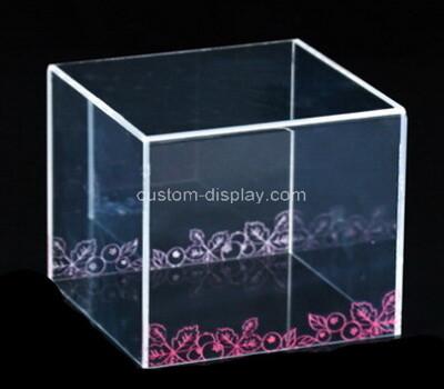Custom acrylic showcase plexiglass display case