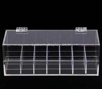Custom plexiglass multi grids showcase lucite display case
