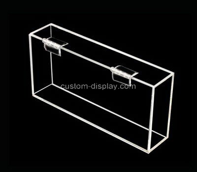 Customize transparent acrylic display case with lid