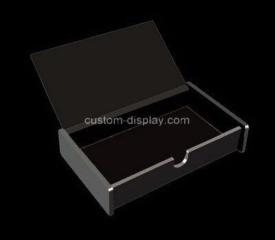 Customize plexiglass jewelry display case with lid