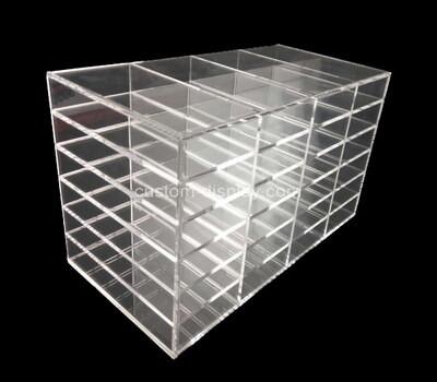 Customize multi grids acrylic display case plexiglass organiser
