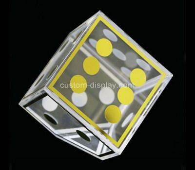 Customize acrylic display cube lucite display box