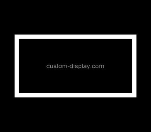 Acrylic manufacturer customize plastic monitor frame