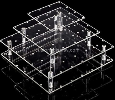 Acrylic manufacturer customize lollipop holder display stand for weddings, parties
