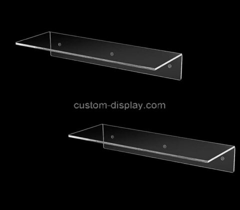 Plexiglass manufacturer customize wall acrylic shelf holders