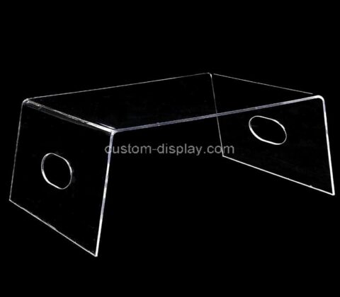 Plexiglass manufacturer customize acrylic bed tray lucite bed desk