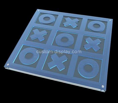 Acrylic manufacturer customize Tic Tac Toe plexiglass game board