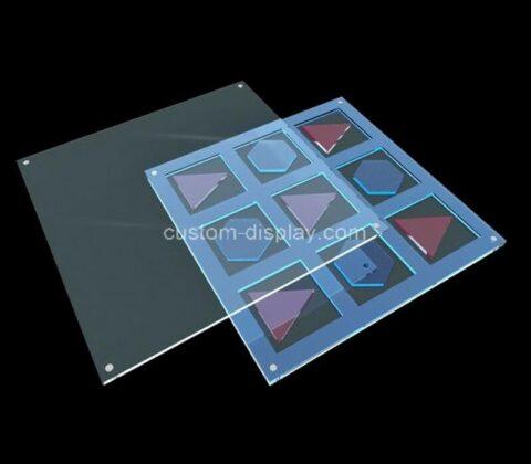 Plexiglass manufacturer customize acrylic kids game board