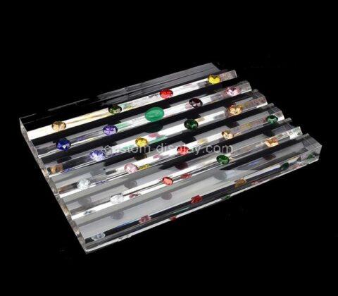 Plexiglass manufacturer customize acrylic jewelry display block