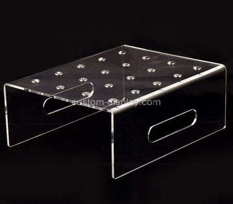 Plexiglass manufacturer customize acrylic lollipop display riser