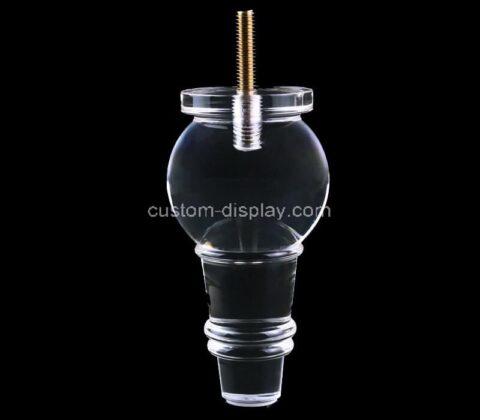 Plexiglass manufacturer customize acrylic furniture leg