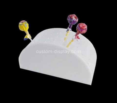 Plexiglass manufacturer customize acrylic lollipops display holder