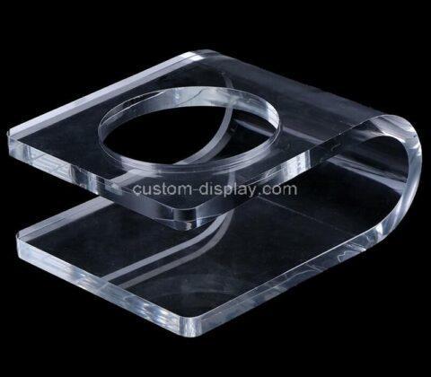 Plexiglass manufacturer customize acrylic bottle holder