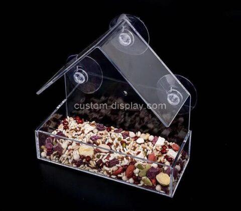 Plexiglass manufacturer customize perspex bird feeder