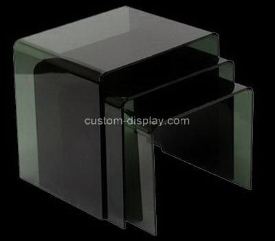 Acrylic manufacturer customize plexiglass side coffee tables