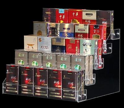 Acrylic manufacturer customize plexiglass cigarette display risers