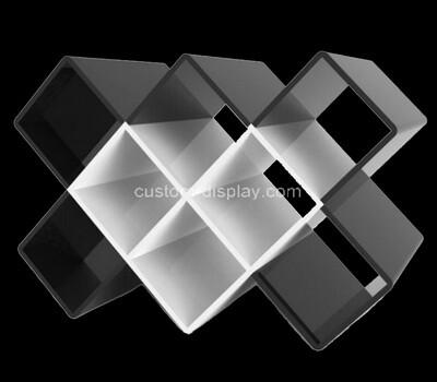 Acrylic manufacturer customize plexiglass wine bottles display racks