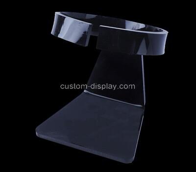 Acrylic manufacturer customize plexiglass countertop black acrylic watch display stand