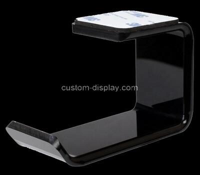 Acrylic manufacturer customize plexiglass wall mounted headphone display rack