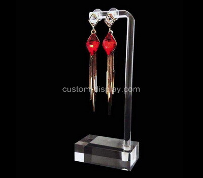 Acrylic manufacturer customize plexiglass earring display rack perspex display stand