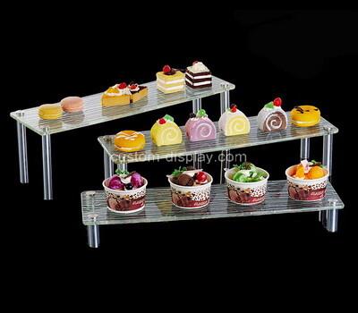 Plexiglass manufacturer customize acrylic cupcake display risers