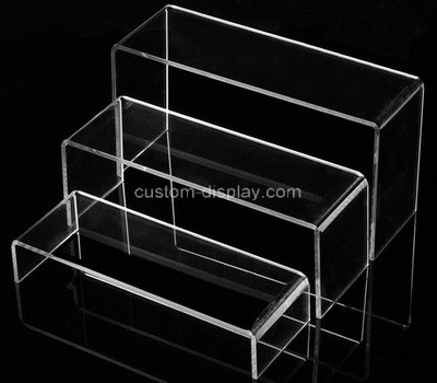Lucite manufacturer customize acrylic display risers perspex display stands