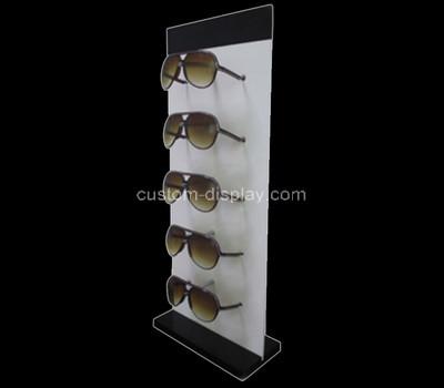 Acrylic manufacturer customize plexiglass sunglasses displsy rack perspex stand