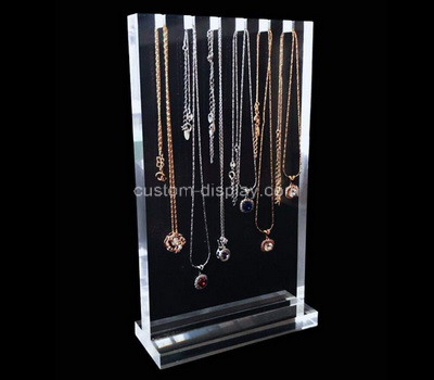 Acrylic manufacturer customize plexiglass necklace displsy rack perspex display stand