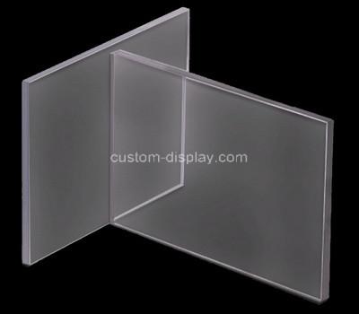 Acrylic manufacturer customize plexiglass sneeze guard desk shield