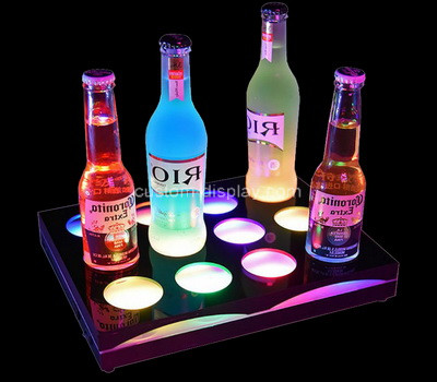 Acrylic manufacturer customize plexiglass bottles holder perspex bottles stand