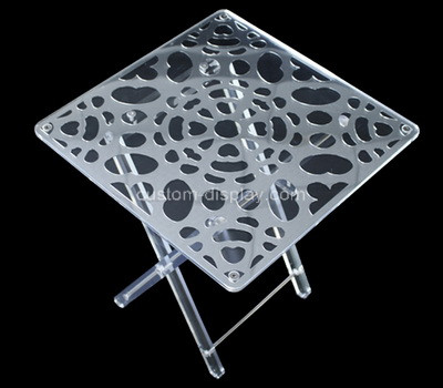 Acrylic manufacturer customize perspex table lucite coffee table