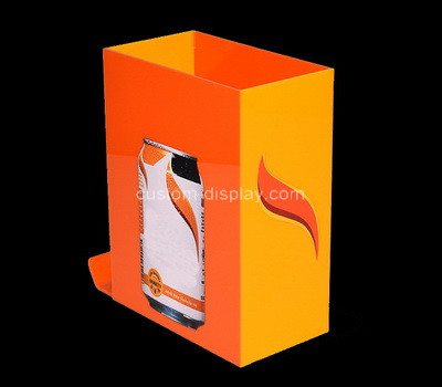 Acrylic manufacturer customize perspex bar drink can cooler holder