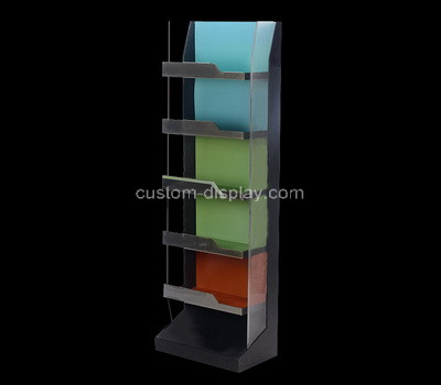 Plexiglass factory customize acrylic retail display racks perspex display shelves